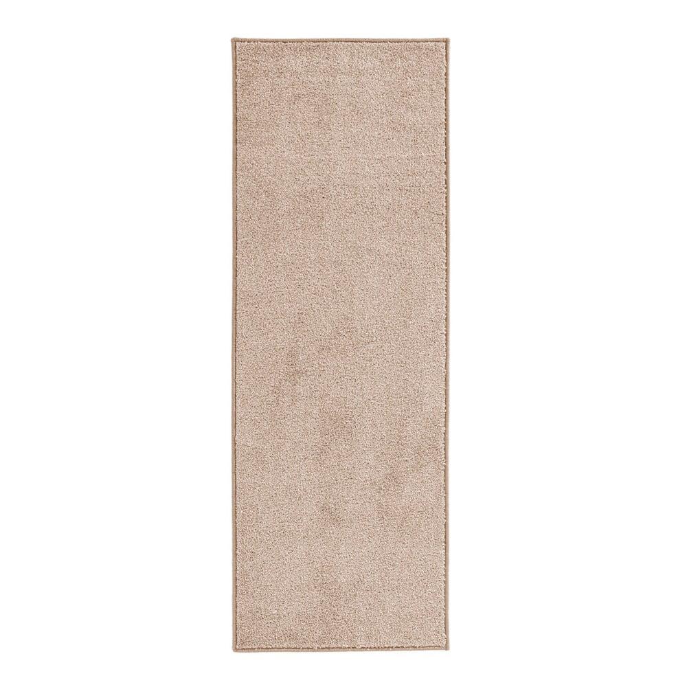 Krémový behúň Hanse Home Pure, 80 × 400 cm