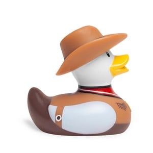Kačička do vane Bud Ducks Mini Cowboy