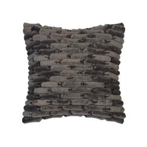 Sivý vankúš ZicZac  Cobble Stone, 45x45cm