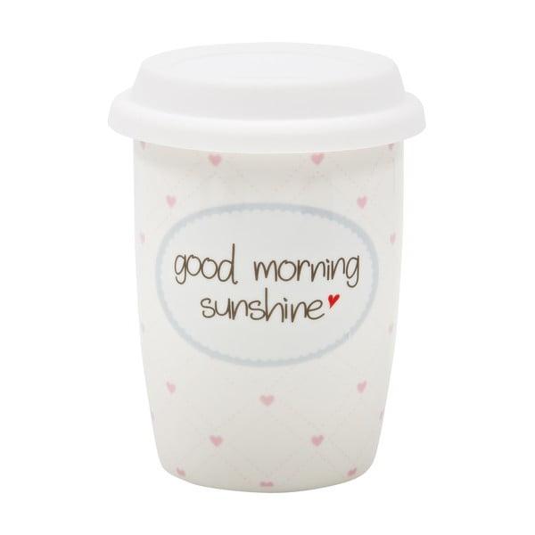 Menší cestovný hrnček Good Morning Sunshine