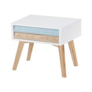 Biely nočný stolík 360 Living Jaden