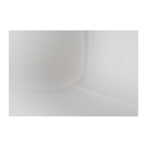 Biele otočné kreslo Kokoon Daytona