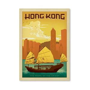 Plagát Americanflat Hong Kong, 42 x 30 cm