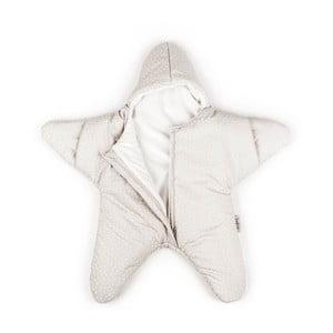 Detský vak na spanie Beige Star, vhodný aj na leto, pre deti od 4 do 7 mesiacov