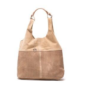 Kožená kabelka Mangotti 875 Fango