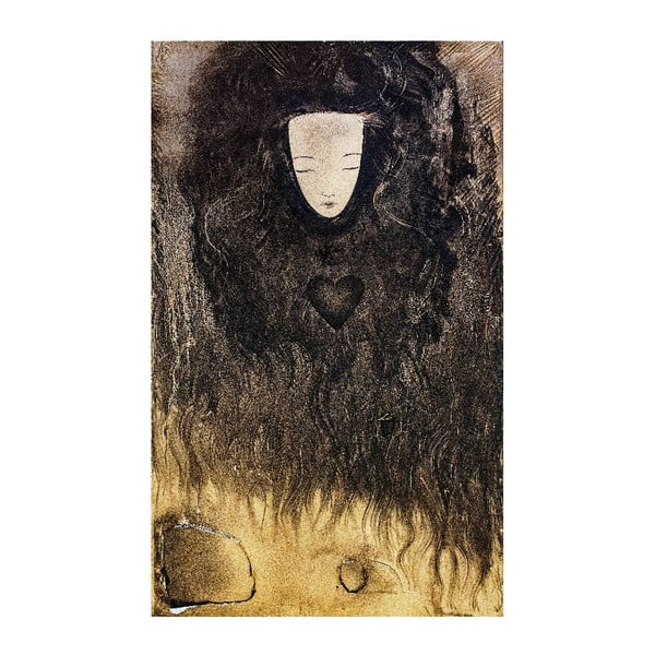 Autorský plagát od Lény Brauner Meditav, 38x60 cm
