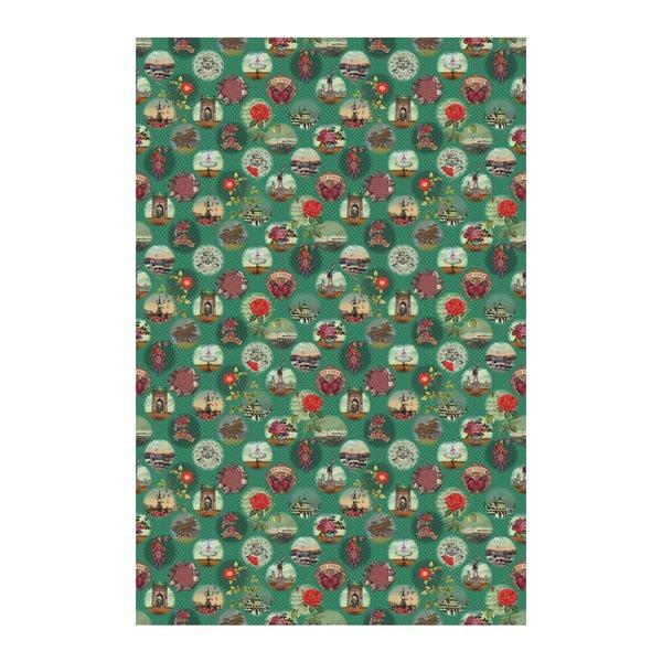 Tapeta Pip Studio Remember Brighton, 186x280 cm, zelená