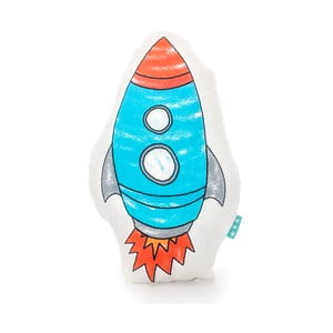 Bavlnený vankúšik Mr. Fox Space Rocket 40 x 30 cm