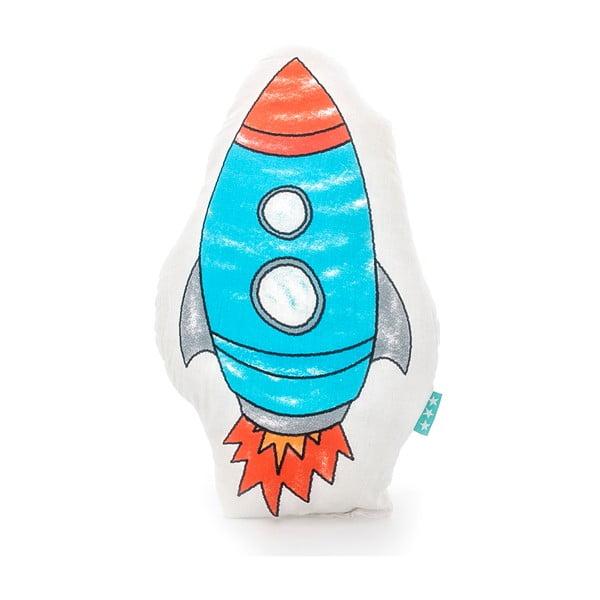 Bavlnený detský vankúšik Mr. Fox Space Rocket 40×30cm