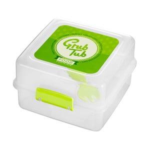 Set 2 desiatových boxov so zeleným vekom Premier Housewares Grub Tub, 13,5×10cm