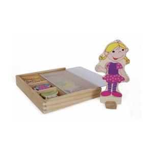 Magnetická obliekacia bábika Legler Ramona
