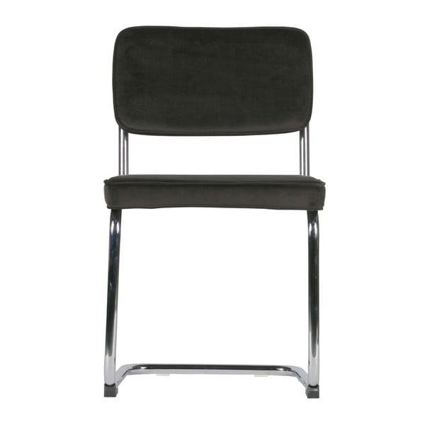 Sada 2 tmavohnedých stoličiek De Eekhoorn Lien