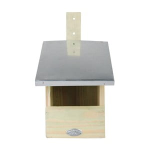 Vtáčia búdka z borovicového dreva pre muchára sivého Esschert Design, výška 33,3 cm