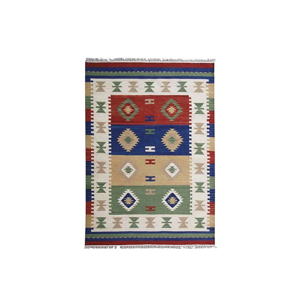 Ručne tkaný koberec Kilim Classic K83, 125x185 cm