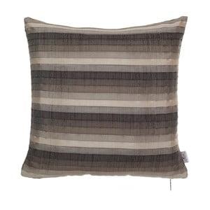 Plisovaná obliečka na vankúš Apolena, hnedá