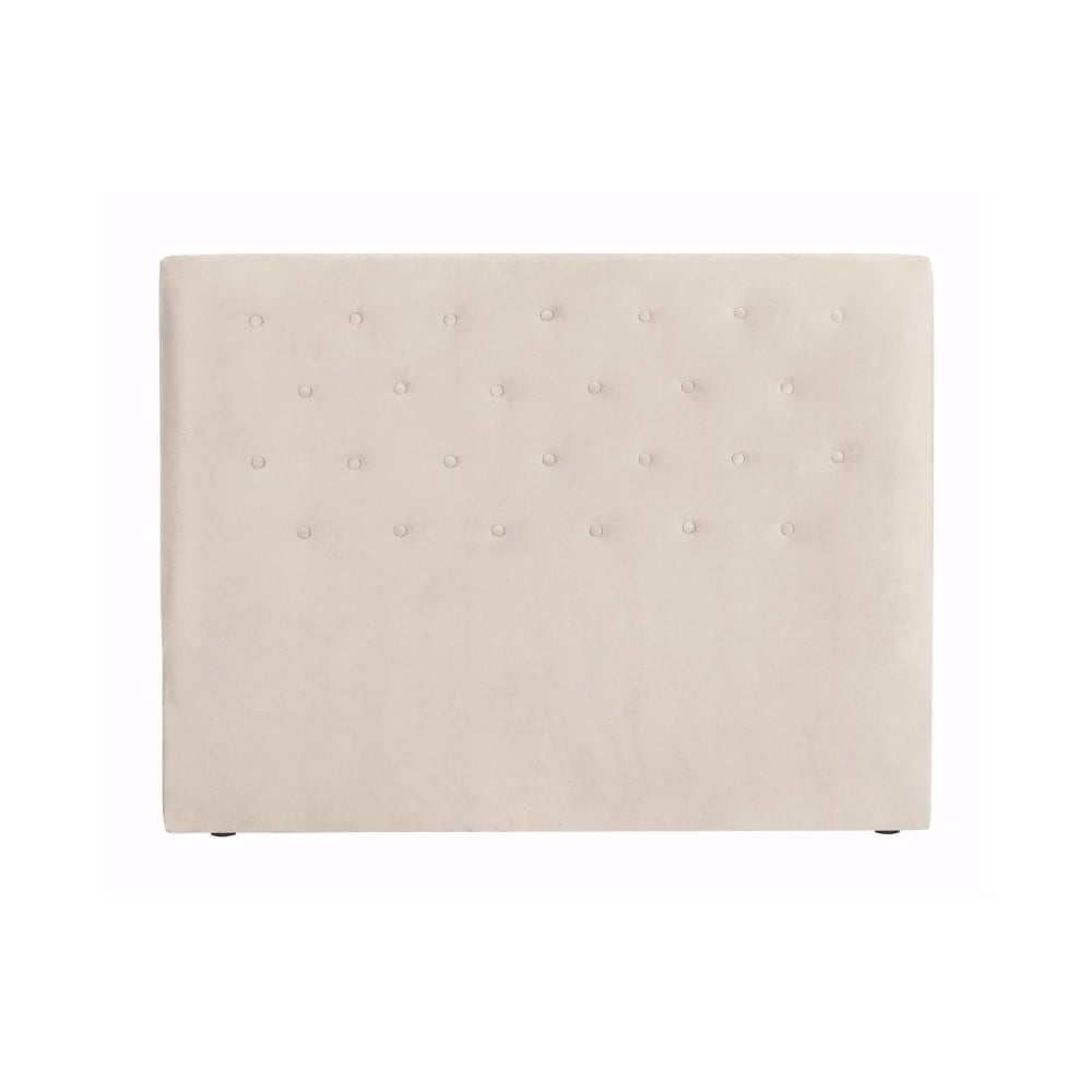 Krémové čelo postele Windsor & Co Sofas Astro, 200 × 120 cm