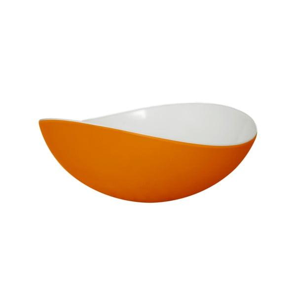 Oranžová miska Entity, 16,5cm