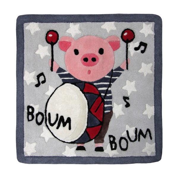 Detský koberec Boum Boum, 70x70cm