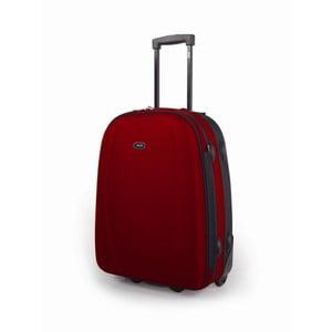 Červená kabínová batožina Jaslen
