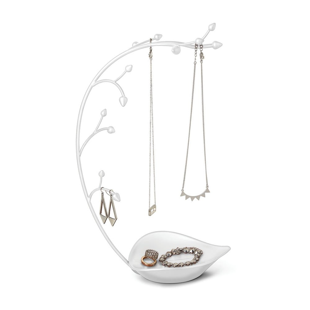 Biely Stojan na šperky Umbra Orchid