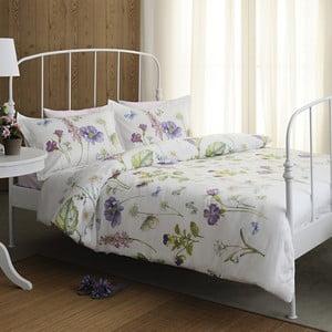 Obliečky Pierre Cardin Violets s plachtou, 200x220 cm