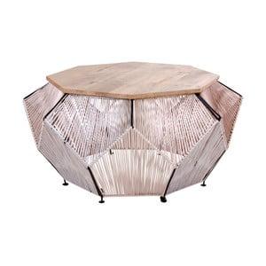 Konferenčný stolík s doskou z mangového dreva House Nordic Akola