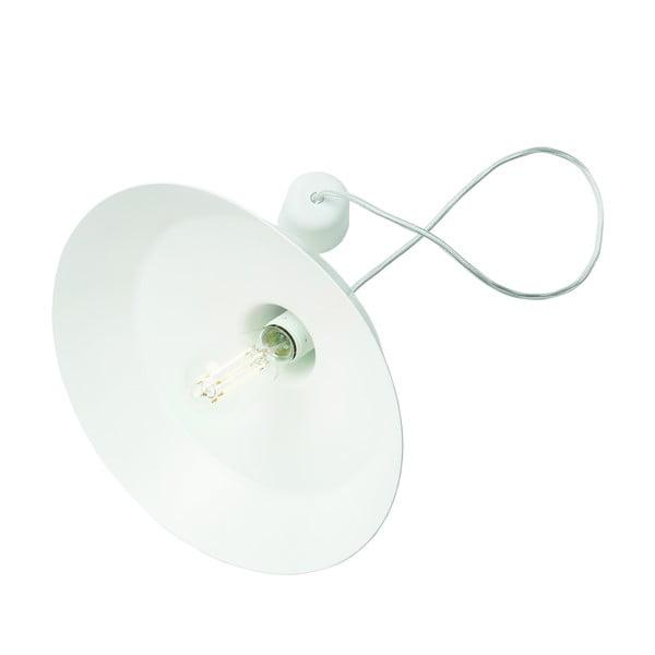 Biele stropné svietidlo Bulb Attack Cinco