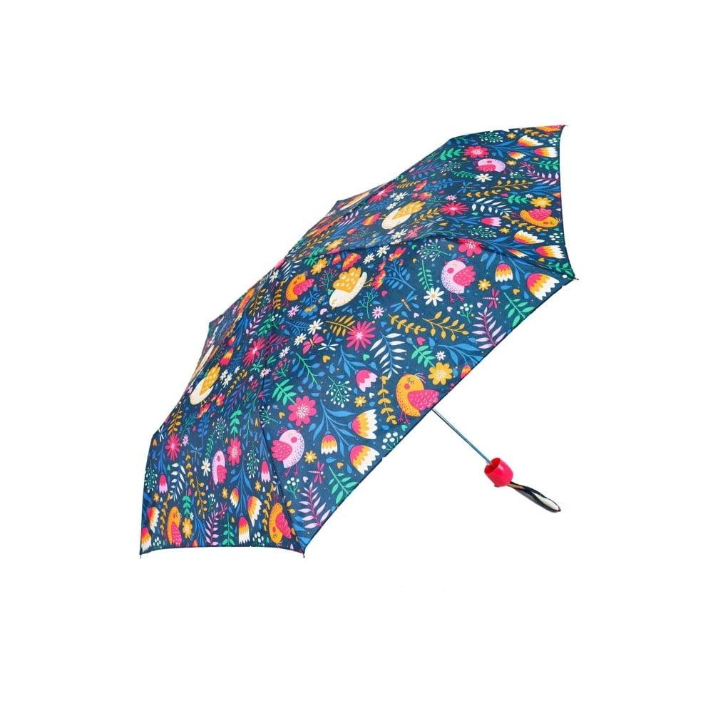 Detský skladací dáždnik Colorful Flower Print