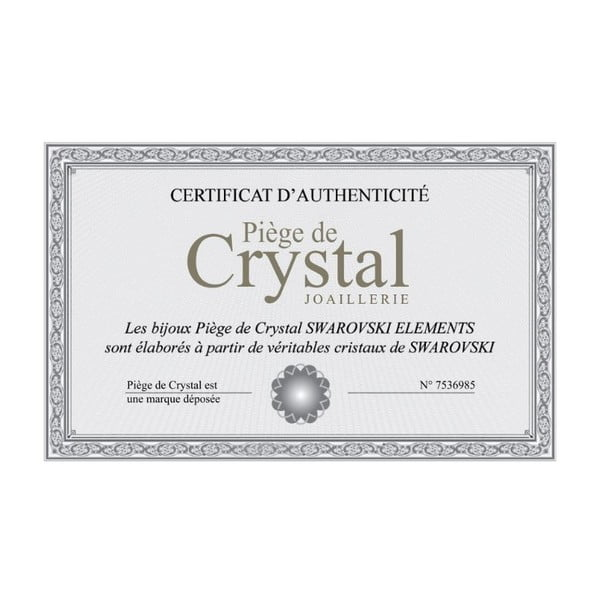 Náhrdelník s krištáľmi Swarovski Elements Crystals Jolie
