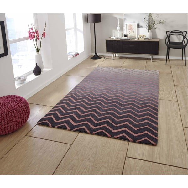 Koberec Spectrum Grey Pink, 150x230 cm