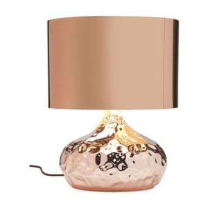 Stolová lampa v medenej farbe Kare Design Rumble