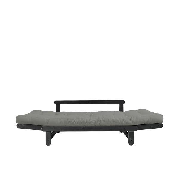 Rozkladacia pohovka Karup Design Beat Black/Grey