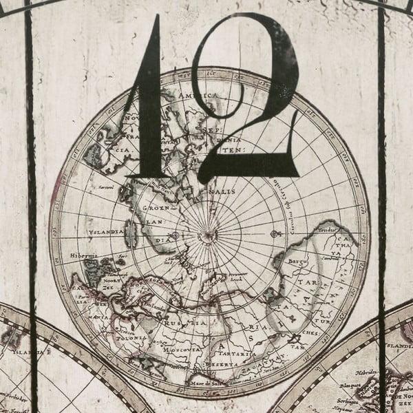 Nástenné hodiny Global, 58 cm