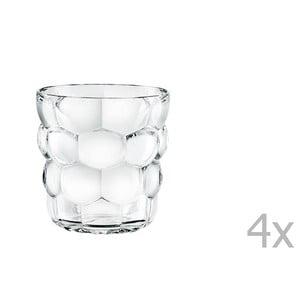 Sada 4 pohárov z krištáľového skla Nachtmann Bubbles, 240 ml