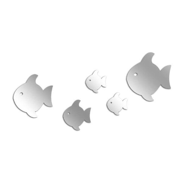 Dekoratívne zrkadlo Fish Mob