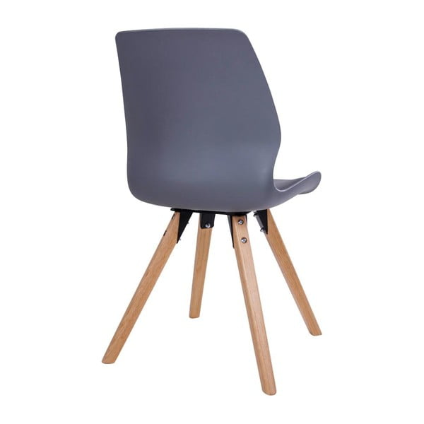 Sada 2 sivých stoličiek House Nordic Rana