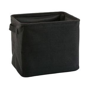 Černý úložný košík Aquanova Tur
