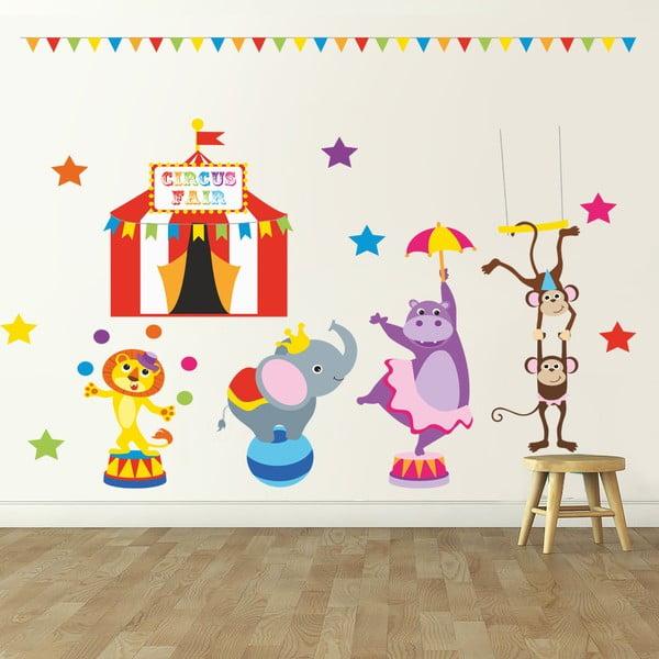 Samolepka na stenu Cirkus