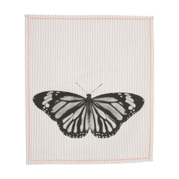 Kuchynská utierka Dotty Butterfly, 55x65 cm