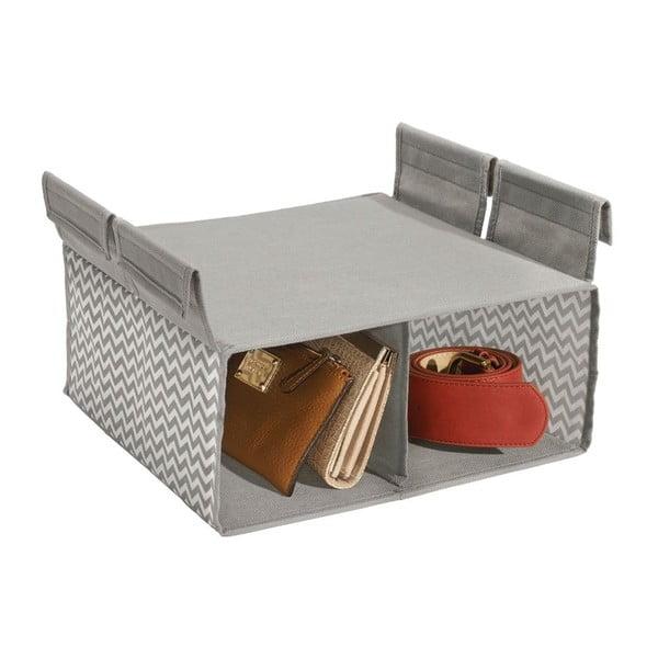 Závesný organizér InterDesign Axis Compartment, 30 x 30 x 20 cm