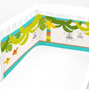 Nastaviteľná výstelka do postieľky Baleno Zoo, 210x40cm