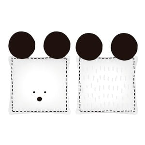 Vankúš Mouse, 40 x 40 cm