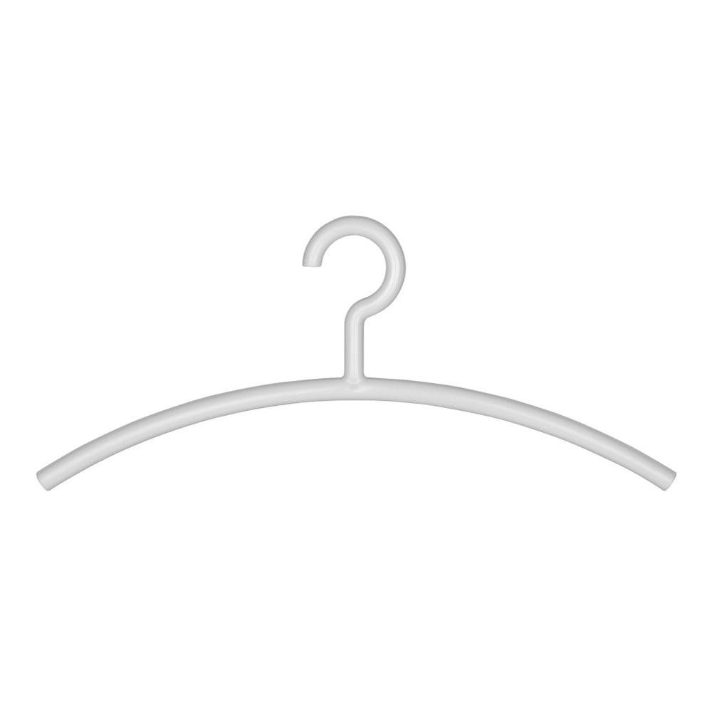 Biely vešiak na oblečenie Wenko Mir