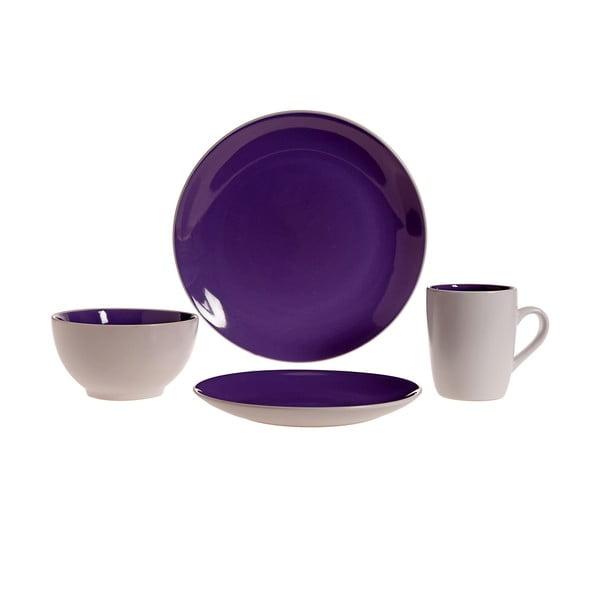 Servírovací riad Lucca Purple, 16 ks