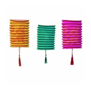 Papierové lampáše Tropicana, 6 kusov