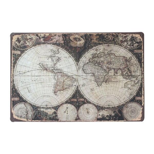 Ceduľa Around The World, 20x30 cm
