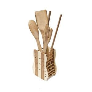 Set 4 nástrojov so stojanom Bamboo
