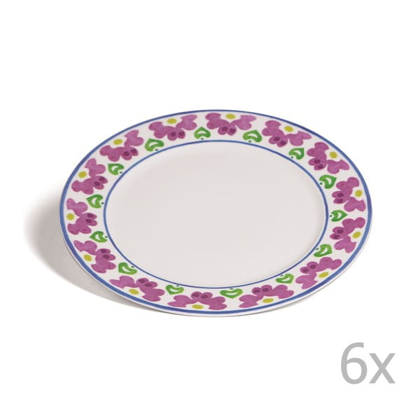 Sada 6 tanierov Toscana Pienza, 27 cm