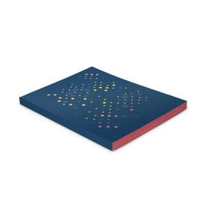 Zápisník Plumb, modrý