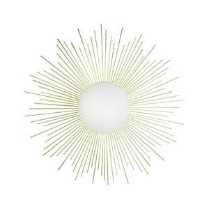 Nástenné svietidlo vo farbe mosadze Globen Lighting Soleil